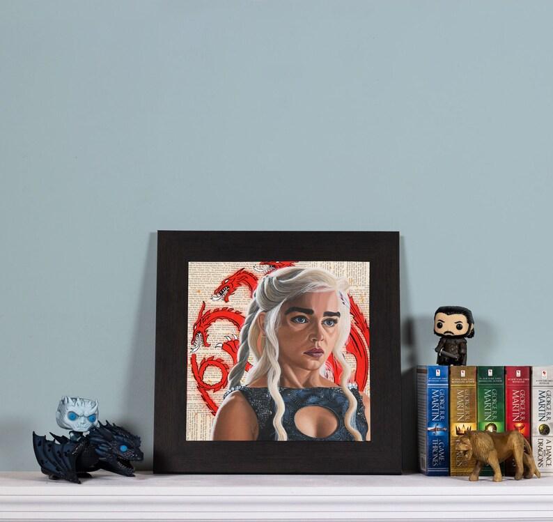 The Dragon  High quality print of Daenerys Targaryen image 0