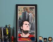 BVS: Son of Krypton- High quality print of Superman