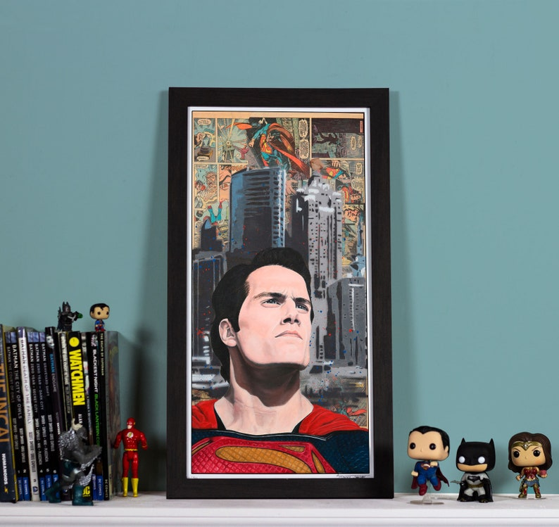 BVS: Son of Krypton High quality print of Superman image 0