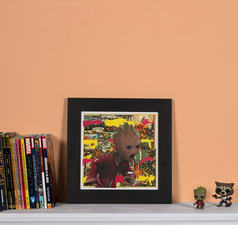 Guardians High quality print of Baby Groot image 0