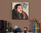 Jon Snow - Original oil painting