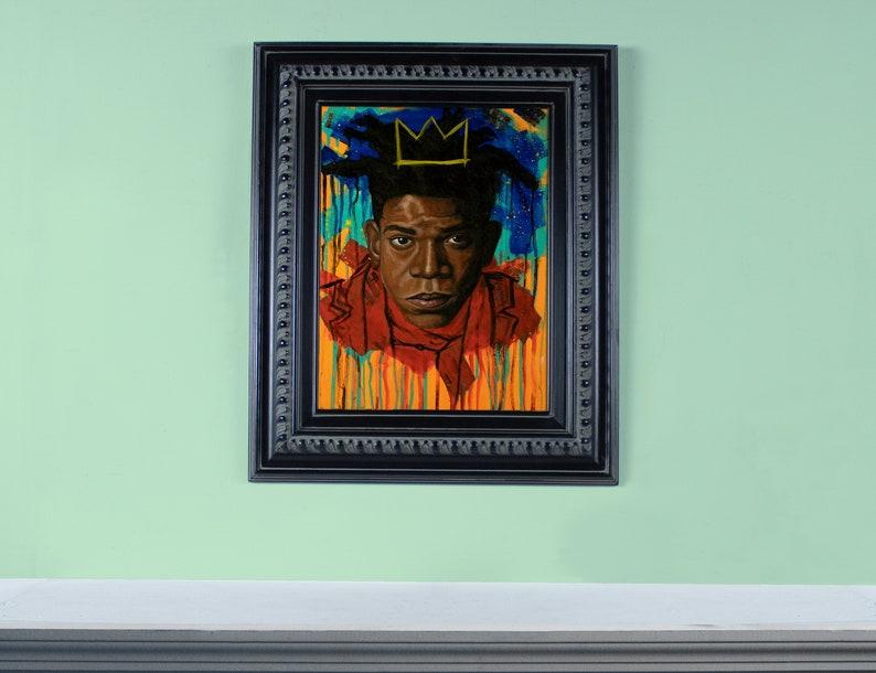 12 X 16 Original Oil painting of Jean-Michel image 0