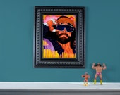 """Space is the place - LIMITED 12"""" x 16"""" High Quality Giclée Print of """"Macho Man"""" Randy Savage"""