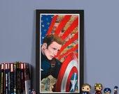 Civil War: Freedom - High quality print of Captain America