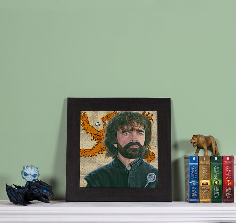 The Lion  High quality print of Tyrion Lannister image 0