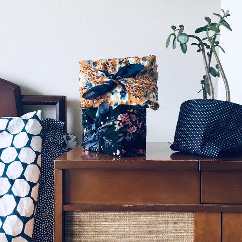 Furoshiki wrapping cloth / Bojagi / Reusable gift wrap / image 0