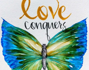 Love Conquers All, 6x9