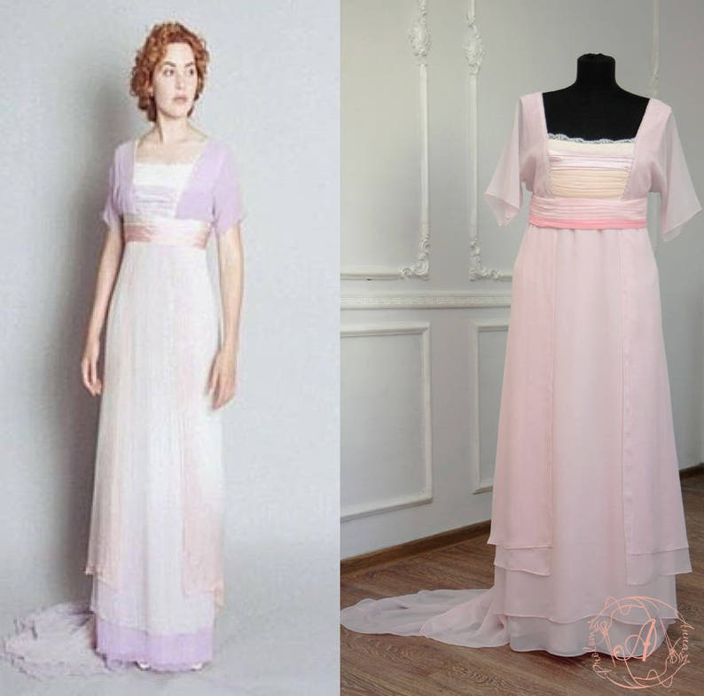 1920s Outfit Ideas: 10 Downton Abbey Inspired Costumes Titanic swim dress Titanic dress movie Titanic cosplay costume Edwardian dress $400.00 AT vintagedancer.com