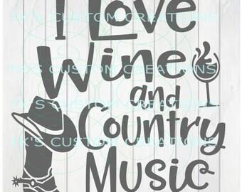 Wine & Country Music