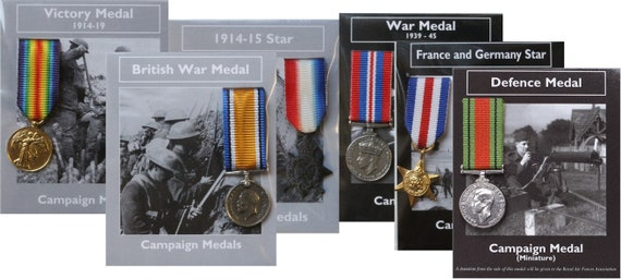 War Medal 1939-45 Campaign Medal Miniature Reproduction