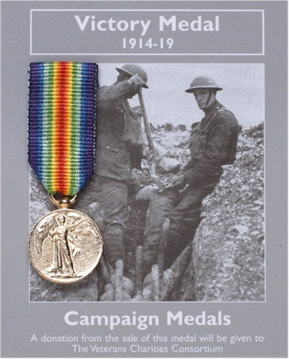 BRAND NEW 1 METER FULL SIZE WW1 VICTORY MEDAL RIBBON