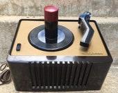 40s Vintage RCA Victor Bakelite 45 record player parts repair