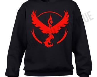 POKEMON GO - Team VALOR Crewneck Sweater