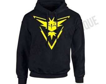 POKEMON GO - Team INSTINCT Hooded Sweater/Sweatshirt