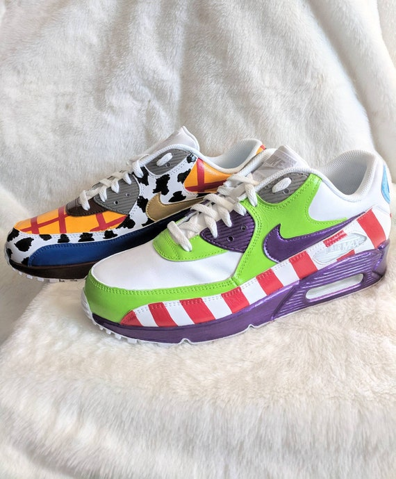 cheap for discount 1e136 967ff Toy story Nike air Max shoes