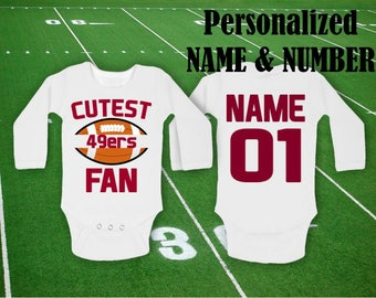 official photos db740 e921b 49ers baby | Etsy
