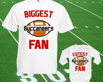 960b33597 Buccaneers baby bodysuit DOUBLE customized Buccaneers Fan shirt t-shirt One  Piece Funny Child boy Clothing Kid s Shower girl Tops Football