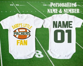 Personalized Name /& Number FREE US SHIPPING Green Bay Packers Jersey Poster