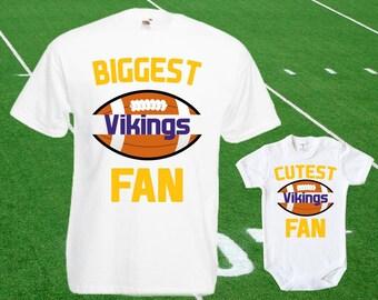 Vikings baby DOUBLE Vikings Fan shirt t-shirt customized bodysuit Funny  Minnesota baby Child boy Clothing Kid s Top Football Shower Toddler 9df8f0eec