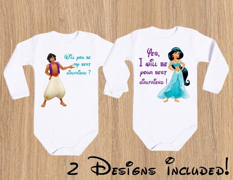 9688c4161 Baby Will be my best friend Shirts I Do Aladdin 2 Funny Disney | Etsy