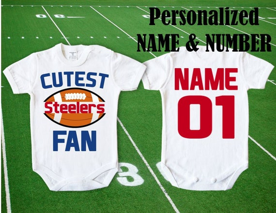 Steelers Baby Cutest Steelers Fan customized personalized NAME  f94b028fa