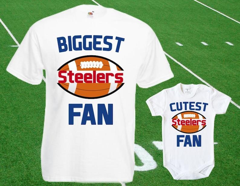 5c3a0681e21 Steelers baby DOUBLE Steelers Fan shirt t-shirt customized