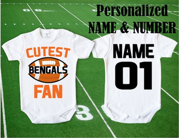 Bengals Baby body Cutest Bengals Fan customized personalized  21b78ef12