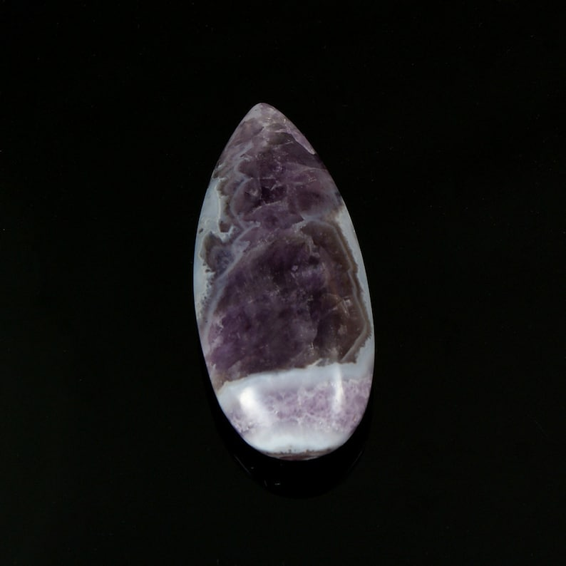 Pendant stone for setting Hand made natural untreated Amethyst Lace Agate Gemstone designer cabochon Amethyst Lace Agate Cabochon