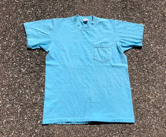 50s Penney's Pocket Tee 1950s 1060s Towncraft T-sh