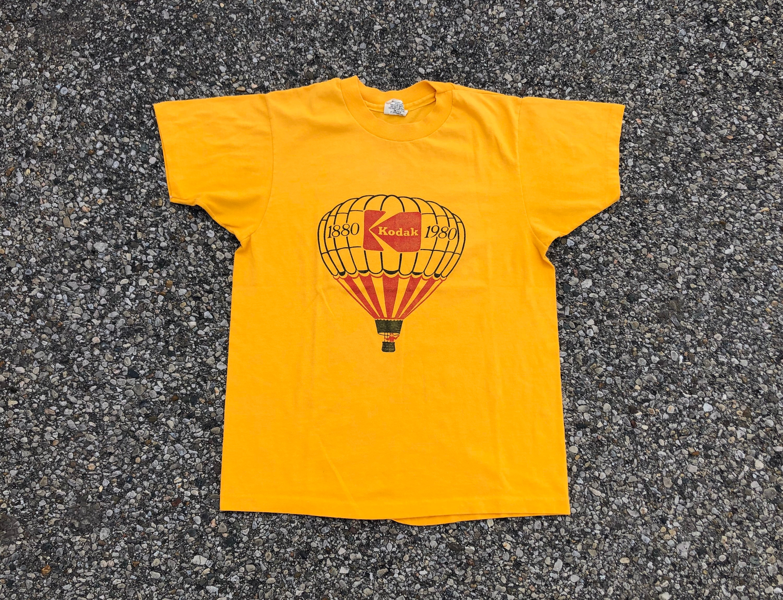 80s Tops, Shirts, T-shirts, Blouse   90s T-shirts 80S Kodak Centennial Tee 1980S Hot Air Ballon Advertising T-Shirt Film $65.00 AT vintagedancer.com