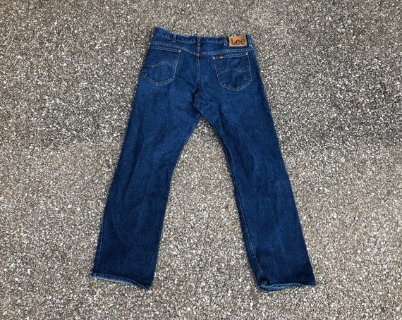1970s Lee Riders jeans 70s Union Lee Denim No Selv
