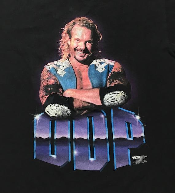 90 s WCW Dallas DDP Diamond Dallas WCW Page T-shirt des années 1990 DDP catch Tee f5bed7