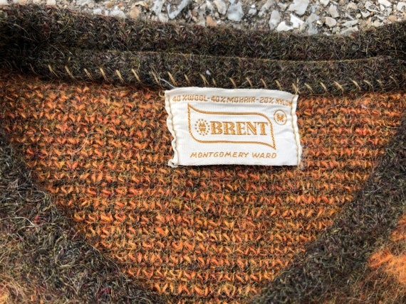 1960s Mohair Cardigan 60s Vintage Mohair Sweater - image 3