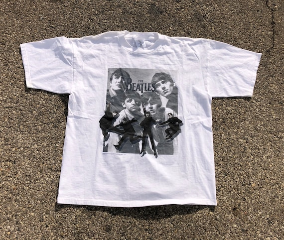 90s Beatles Tee 1990s  Beatles T-shirt Vintage Bea