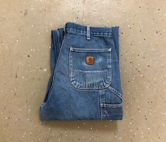Vintage Carhartt Dungarees 90s Carhartt Made in US