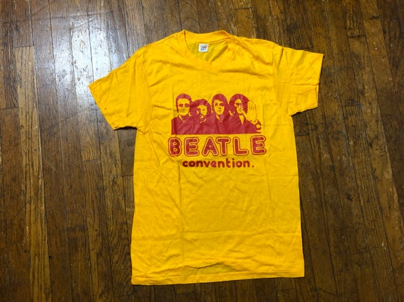 70s Beatles Tee 1970s 10 years Beatles Tee Beatle