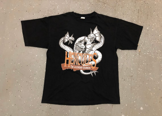90s Hercules The Legendary Journeys Tee 1990s Herc