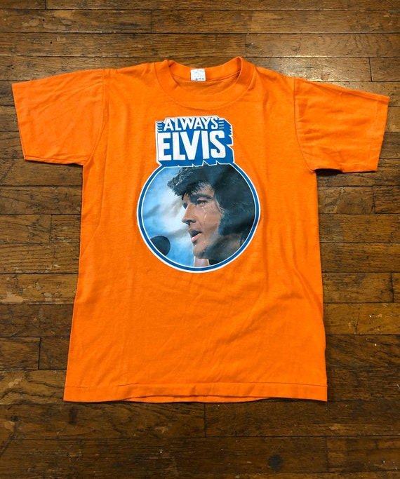 1970s Always Elvis Tee 70s Elvis T-shirt