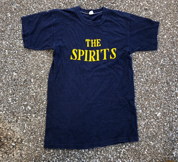 1960s  Russell Southern The Spirits Tee 60s Navy B