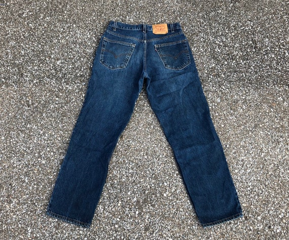 90s Made in USA Levis 550s  Vintage 1990s 550 Levi