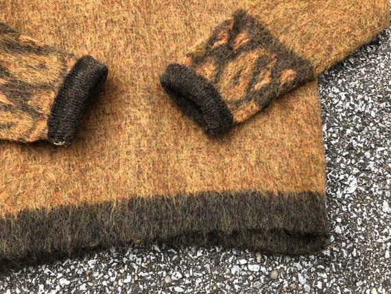1960s Mohair Cardigan 60s Vintage Mohair Sweater - image 5