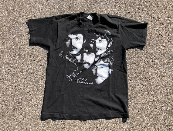 80s Beatles Tee 1980s 1990s The Beatles T-shirt