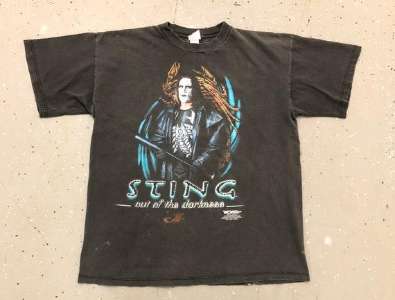 90s WCW Sting T-shirt 1990s Sting Wrestling Tee