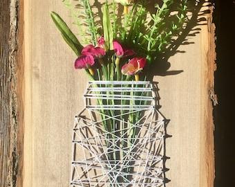 MADE TO ORDER Mason Jar String Art