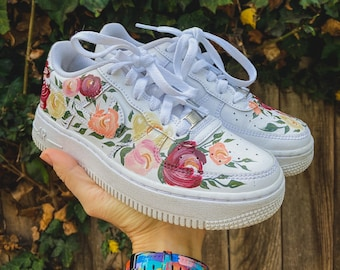Custom Hand Painted Shoes / Personalized Sneakers / Customer Provides Shoes for Painting