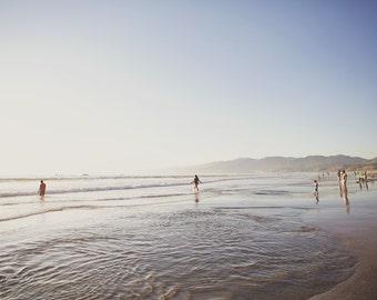 Santa Monica Beach, California Photography, California Beaches