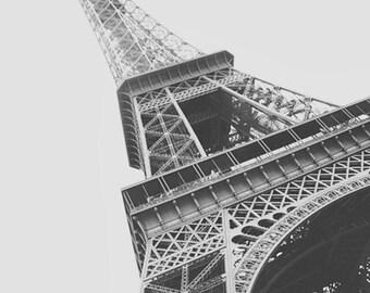 Eiffel Tower, Paris France, Black and White Photography, Eiffel Tower Photos