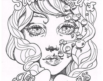 Samantha's Illustrations Coloring Book Full Set