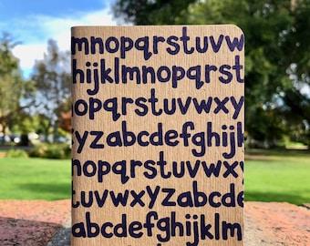 Alphabet Dot Grid Notebook