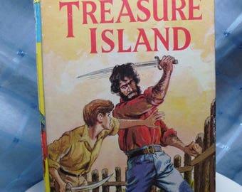 "Vintage ""Treasure Island"" Book by R.L. Stevenson"